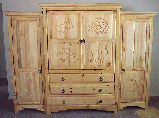 mimbres southwest bedroom furniture collection