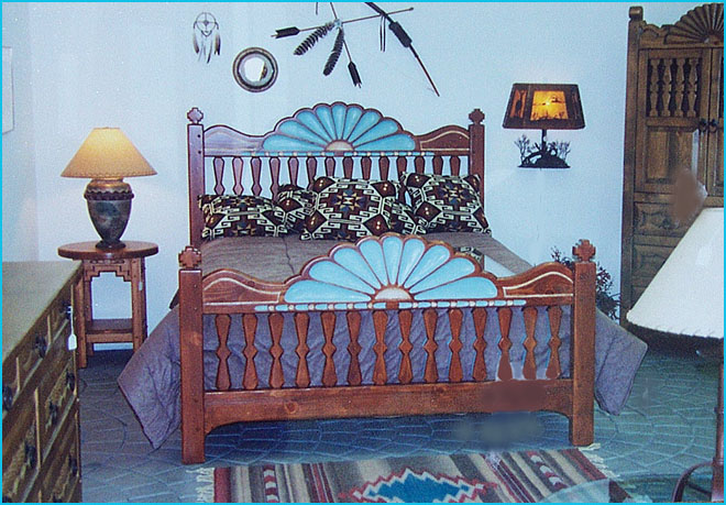 santa ana southwest bedroom furniture collection