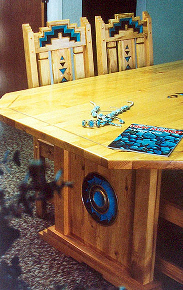 Anasazi Southwest Dining Set Tables Trestle Tables