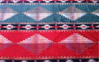Mohican_spruce, Southwest Upholstery Fabric