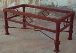 Diamond Iron Coffee Table