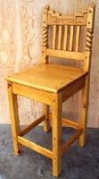 Great Southwest  Steps Counter Stool Honey