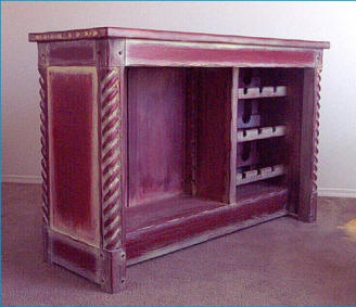 Great Southwest Dry Bar Cabinet