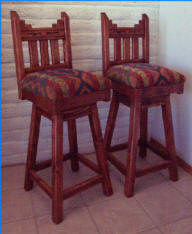 New Mexico Counter/Bar Stools No Arms With Swivel