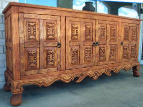 Old World Buffet, Plasma TV Cabinet