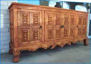 Old World Plasma TV Stand TV Cabinet Media Center