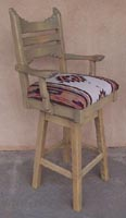 Picos Barstool With Arms & Swivel