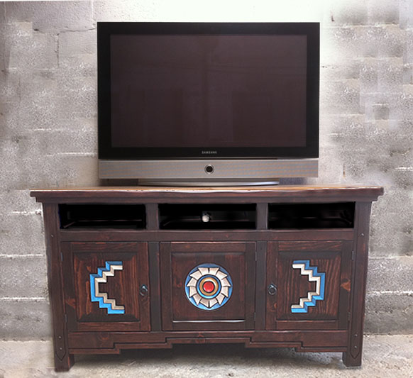 Anasazi Southwest TV Cabinet