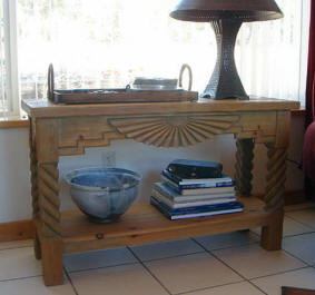 Aurora With Rope Sofa Table