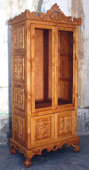 Old World Curio Cabinet