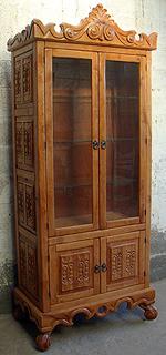 Valery Sutherland, Old World Curio Cabinet