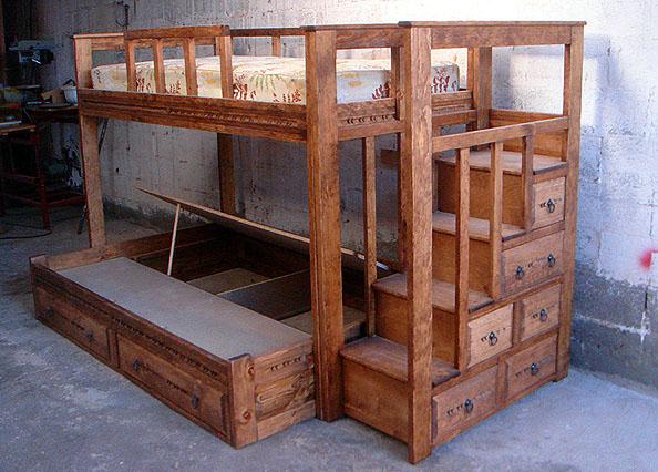 Custom Bunk Beds 594 x 426