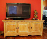 Mission Flat Screen TV Cabinets