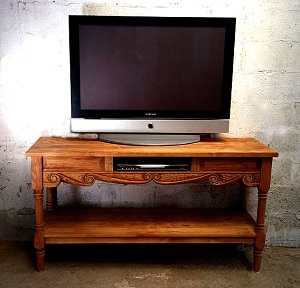 Old World Southwest Flat Screen TV Stand
