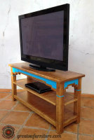 Stairstep Flat Screen TV Stand