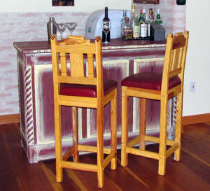 Great Southwest Dry Bar & Anasazi Bar Stools