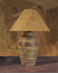 Pueblo Table Lamp, 10211